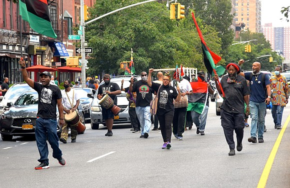 Harlem, USA joined nations all over the world to celebrate the August 17th birthday of the Honorable Marcus Mosiah Garvey.