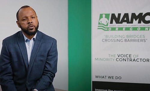 Minority contractors say an equity lens that Metro used to hire a diverse workforce in the recently completed Oregon Convention ...
