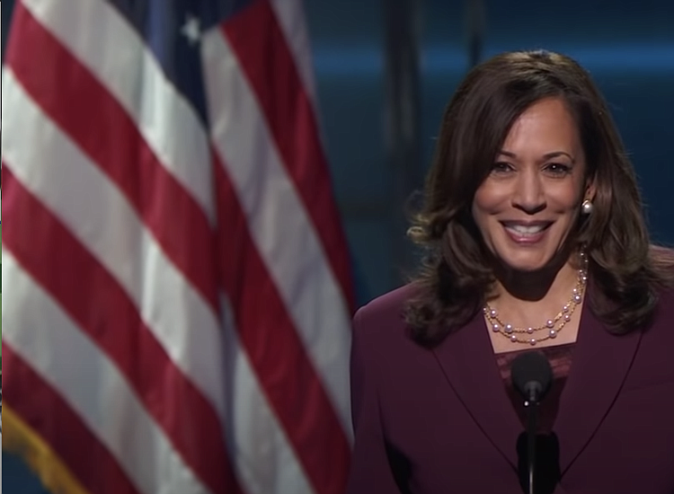 Video Sen Kamala Harris Accepts The Democratic Party S Nomination For Vice President New York Amsterdam News The New Black View