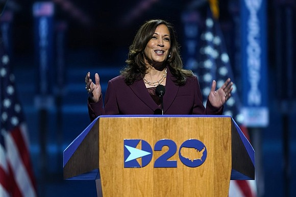 Kamala Harris accepted the Democratic nomination for vice president on Wednesday, cementing her place in history as the first Black ...