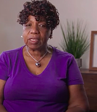 Gwen Carr, the mother of Eric Garner, who was killed by a police officer in Staten Island, New York.