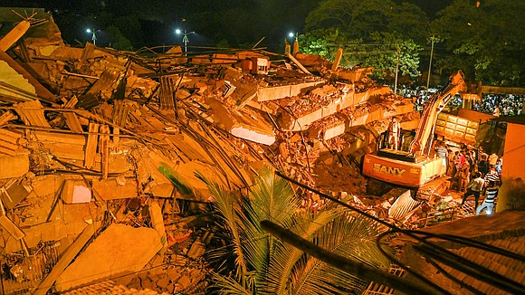 The death toll from a five-story apartment building collapse in the Indian state of Maharashtra has risen to 12, as ...