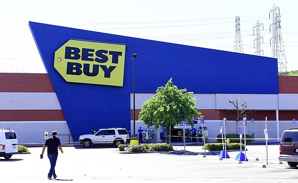 Best Buy said Tuesday that its sales soared over the summer months but cautioned that the momentum may not continue ...