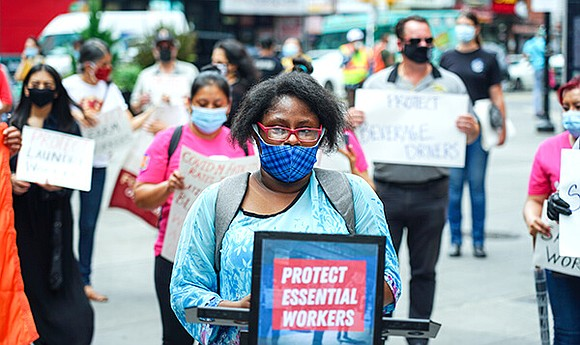One legislator wants to make sure that all workers are protected properly during the COVID-19 pandemic.