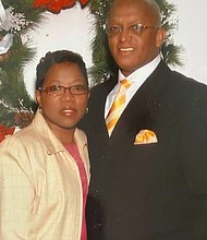 """Mayor Bernard C. """"Jack"""" Young with his wife Darlene celebrated their 41st Wedding Anniversary this month. Happy Anniversary Jack and Darlene!"""