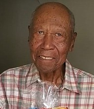 Happy Birthday to George Gaines Sr. on his 100th Birthday this month. YOU GO MR. GAINES!!!!! May God continue to bless you