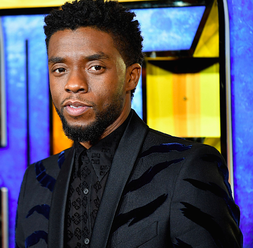 "Chadwick Boseman, the man who brought Black Panther to life, has died. This image shows Boseman attending the European Premiere of Marvel Studios' ""Black Panther"" on February 8, 2018 in London, England."
