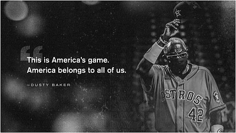 On Friday, Major League Baseball teams celebrated former Negro League and Major League player Jackie Robinson who broke the color ...