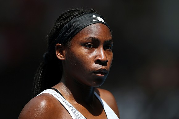 Coco Gauff lost her opening match at a different looking US Open against former semifinalist Anastasija Sevastova, while two fellow ...