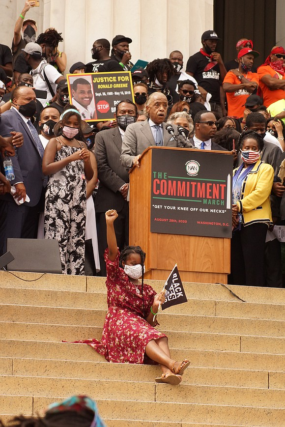 On Saturday, August 28, 2020, the Rev. Al Sharpton, president of the National Action Network, hosted a March on Washington