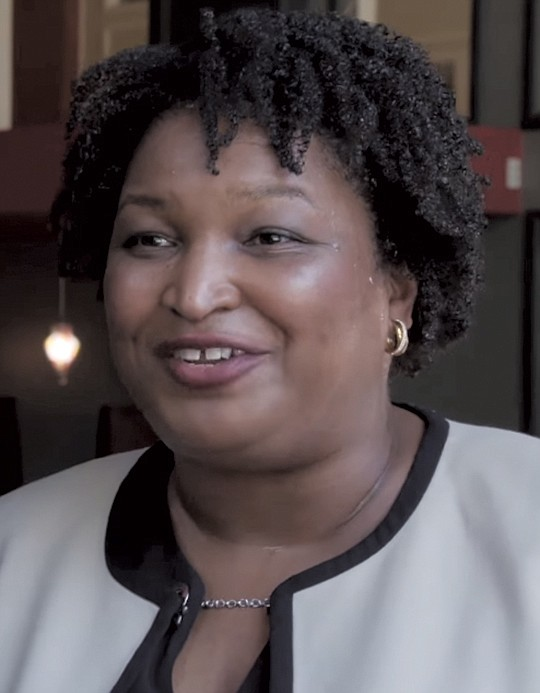 Voting rights activist Stacey Abrams apparently came by her political leanings in...