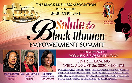 "The Black Business Association (BBA) ""Salute to Black Women Empowerment.."