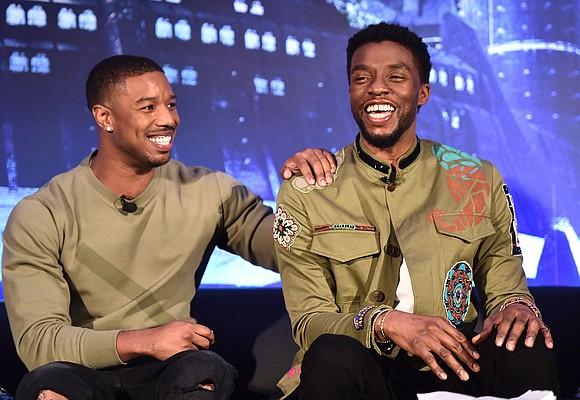 One of the last times Chadwick Boseman and Michael B. Jordan spoke, Boseman said they were forever linked, Jordan wrote ...