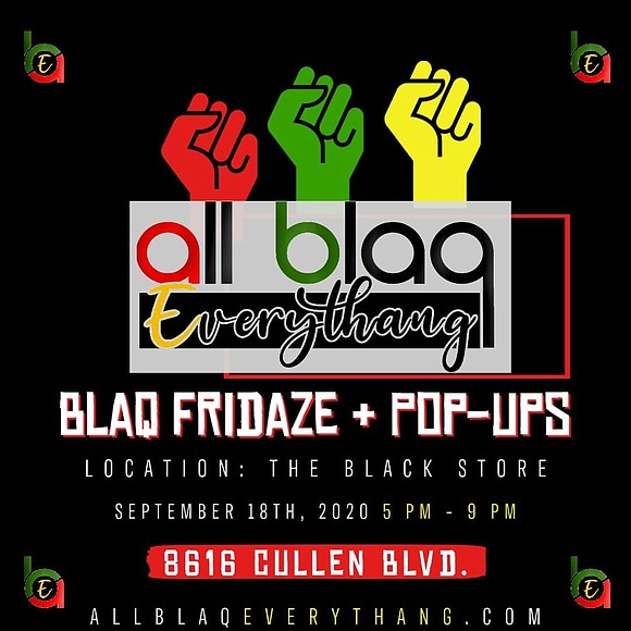 All Blaq Fridaze + Pop-Ups Presented By The All Blaq Everythang Festival, a celebration of black culture and creating a ...
