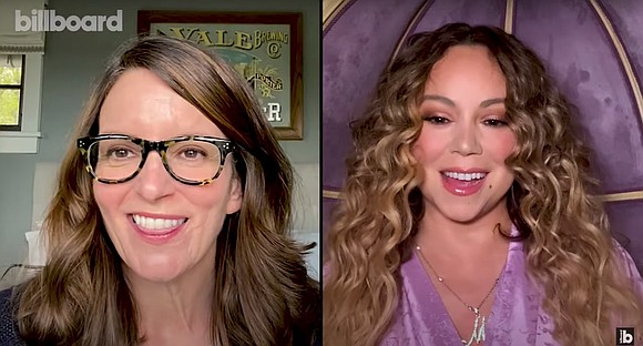 In what is guaranteed to be the best thing you'll see all day, Tina Fey is virtually quizzing Mariah Carey ...