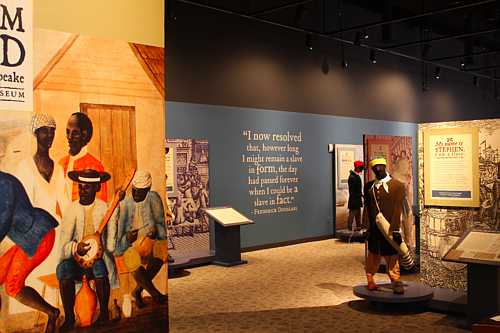 The Reginald F. Lewis Museum of Maryland African American History and Culture re-opened to the public on Thursday, September 10, 2020. Freedom Bound: Runaways of the Chesapeake and Robert Houston: The 1968 Poor People's Campaign in Photographs are the exhibitions on display.