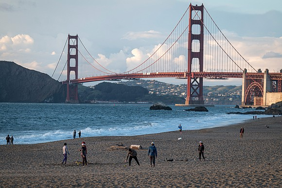 Seven people were hospitalized after a car crash Sunday on the Golden Gate Bridge in San Francisco may have exposed ...