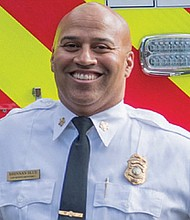 Vancouver's new Fire Chief Brennan Blue.