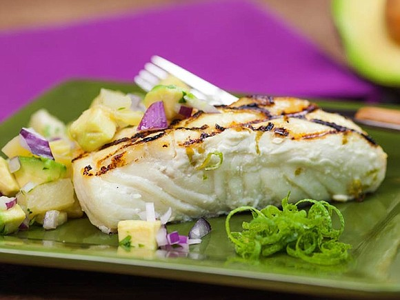 When it comes to healthy sources of protein, fish is the dish. An entrée like grilled white fish with avocado ...