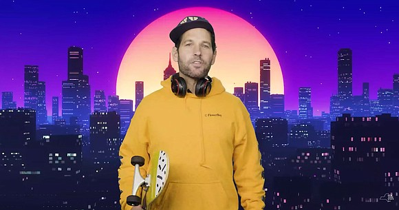 """Paul Rudd wants you to be a """"bae"""" and wear a mask. The 51-year-old actor filmed a public service announcement ..."""