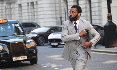 John David Washington is excellent in 'Tenet,' his biggest film yet. (Photo courtesy Warner Bros.)