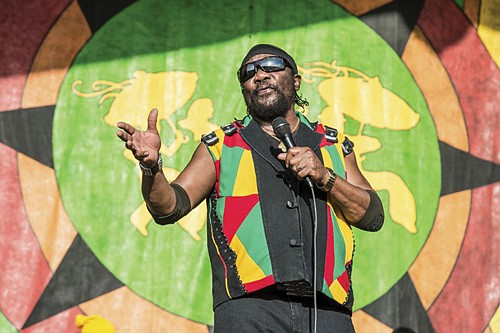 Toots Hibbert performs at the 2018 New Orleans Jazz and Heritage Festival. (AP file photo)