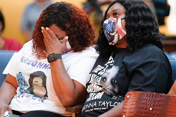 Months after the police killing of Breonna Taylor thrust her name to the forefront of a national reckoning on race, ...