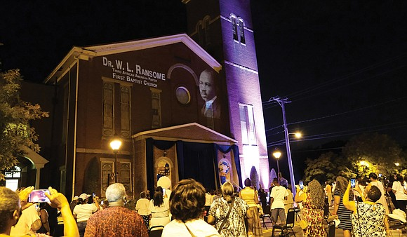 Last Sunday nearly 300 people attended the Grand Illumination at First Baptist Church of South Richmond, a celebration kicking off ...