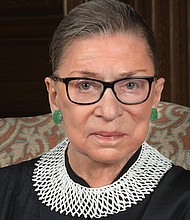 Ruth Bader Ginsburg 2016 portrait. (Photo: Supreme Court of the United States)