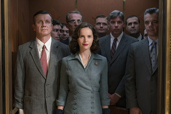 """Felicity Jones, who played late Supreme Court Justice Ruth Bader Ginsburg in the film """"On the Basis of Sex,"""" is ..."""