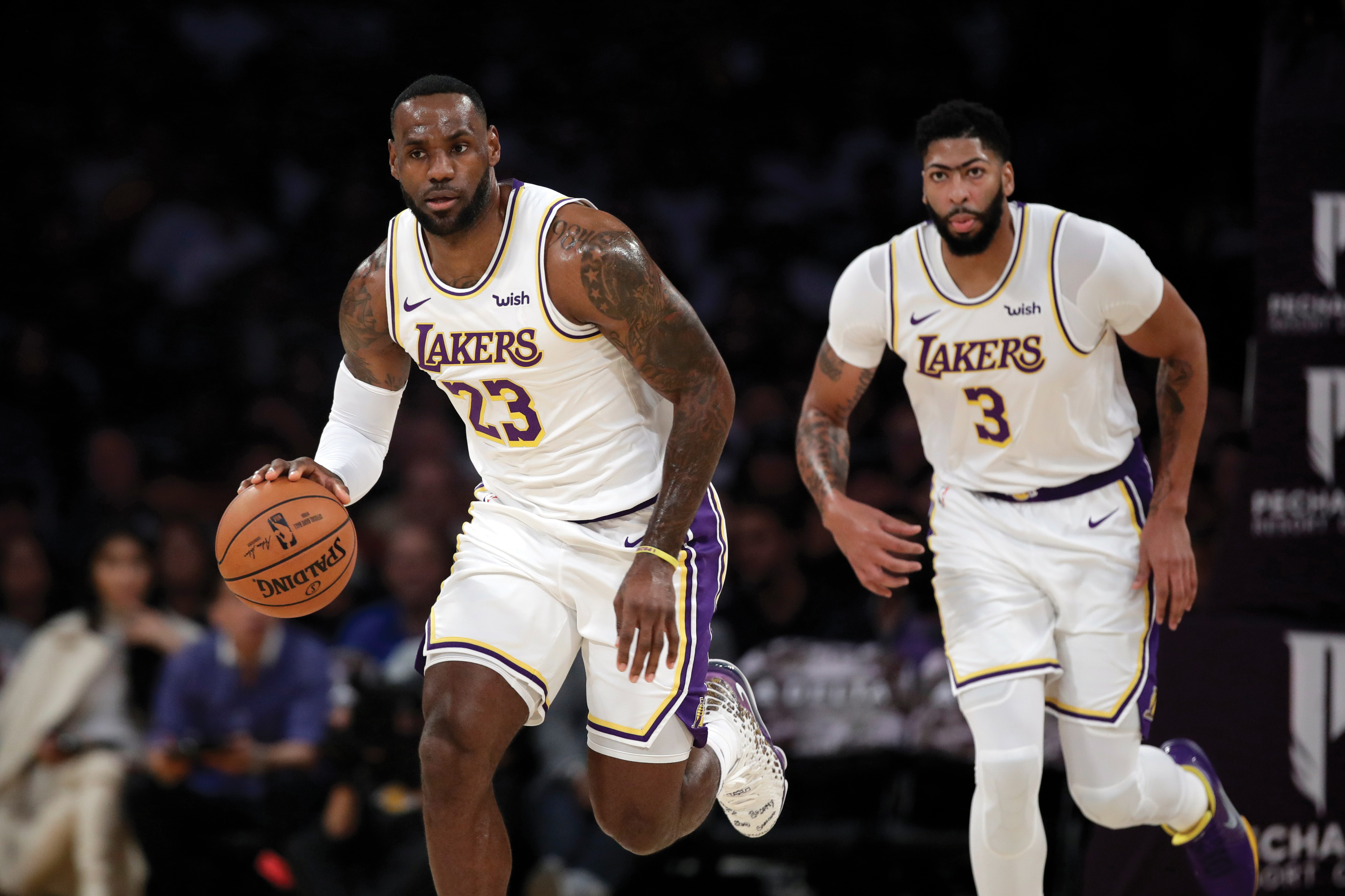 Towering Tandem May Take L A Lakers To Nba Championship Richmond Free Press Serving The African American Community In Richmond Va