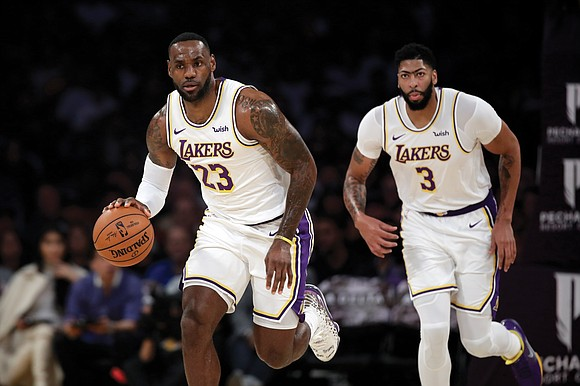 LeBron James and Anthony Davis may be the most entertaining one-two combination since rock and roll.