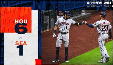 """""""Controlling your own destiny,"""" is a phrase the Houston Astros have heard over the last three weeks day in and ..."""