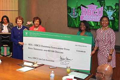 Alpha Kappa Alpha Sorority, Inc. sorority raises $1 million in 24 hours benefiting of HBCUs.