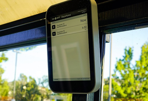 TriMet is bringing new electronic digital information displays to bus stops and transit centers. The new technology also comes as ...