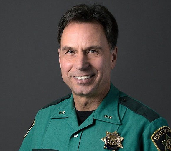 "The sheriff made his voice clear when tweeted out after Trump made the false endorsement, ""As the Multnomah County Sheriff ..."