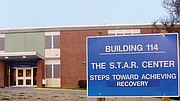 The S.T.A.R. mall, as it is now call, was built on the campus in 1962 as a chronic infirmary. It was repurposed in the late 1990s as a treatment and services space. In addition to hosting mental health treatment groups, the building contains a lab set up like a small apartment where patients learn skills to live independently. It also contains a library, beauty shop, canteen and clothing shop.