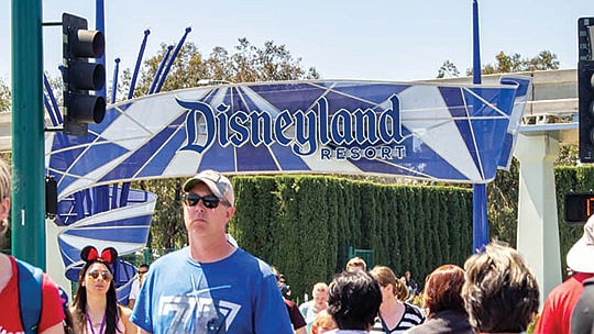 "Orange County will begin using Disneyland as a new ""super site'' for coronavirus vaccinations this week..."