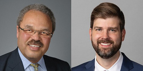 Lawmaker Lew Frederick from Portland's Black community and Mike Schmidt, the new Multnomah County District Attorney, will discuss criminal justice ...