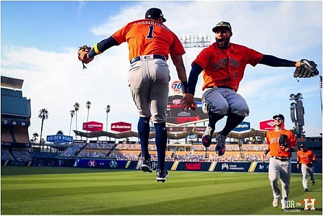 Baseball in the postseason at Dodger Stadium just does something to the Houston Astros. The last time Houston played a ...
