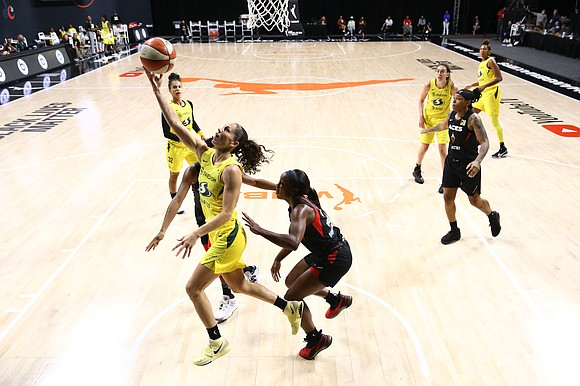 The Seattle Storm came out swinging and swept the WNBA Finals over the Las Vegas Aces 3–0. The third and ...