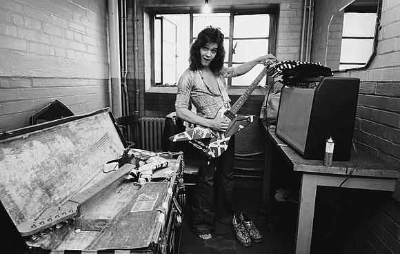 Even in the decadent 80s, known for its over-the-top guitar shredding and showmanship, Eddie Van Halen was a towering presence. ...