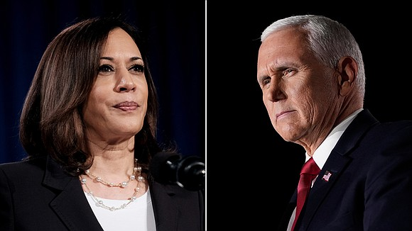 Vice President Mike Pence and Sen. Kamala Harris are participating Wednesday in the lone vice presidential debate of the 2020 ...