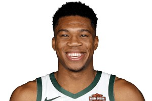 The Milwaukee Bucks' Giannis Antetokounmpo is a double dipper when it comes to awards.