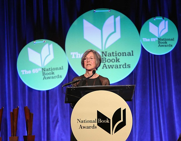 """The 2020 Nobel Prize in Literature has been awarded to the US poet Louise Glück """"for her unmistakable poetic voice ..."""