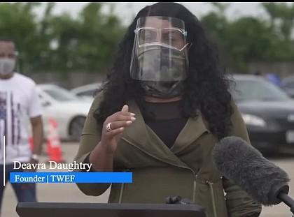 Deavra Daughtry, TWEF Founder