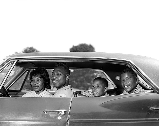 """Archival photos from the documentary """"Driving While Black"""""""