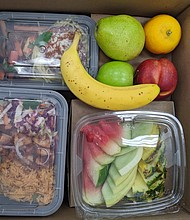 Food box for students from Red Rabbit
