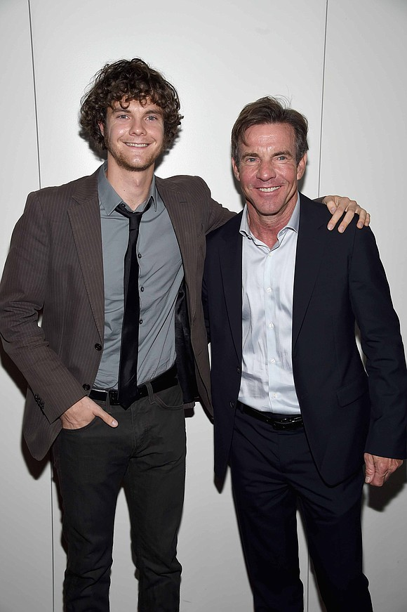Having famous parents might have helped Jack Quaid, but according to his father the young actor was having none of ...