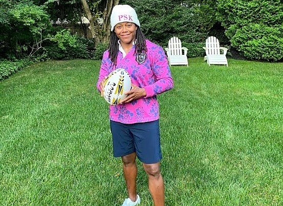 At last night's Women's Sports Foundation Salute to Women in Sports, presented virtually by Yahoo! Sports, Phaidra Knight, a member ...